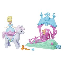 Игровой набор Hasbro Disney Princess мини кукла Золушка и пони (E0072_E0249)