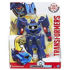 Трансформеры Hasbro Transformers Robots in Disguise Гиперчэндж Саундвейв (B0067_C2350)